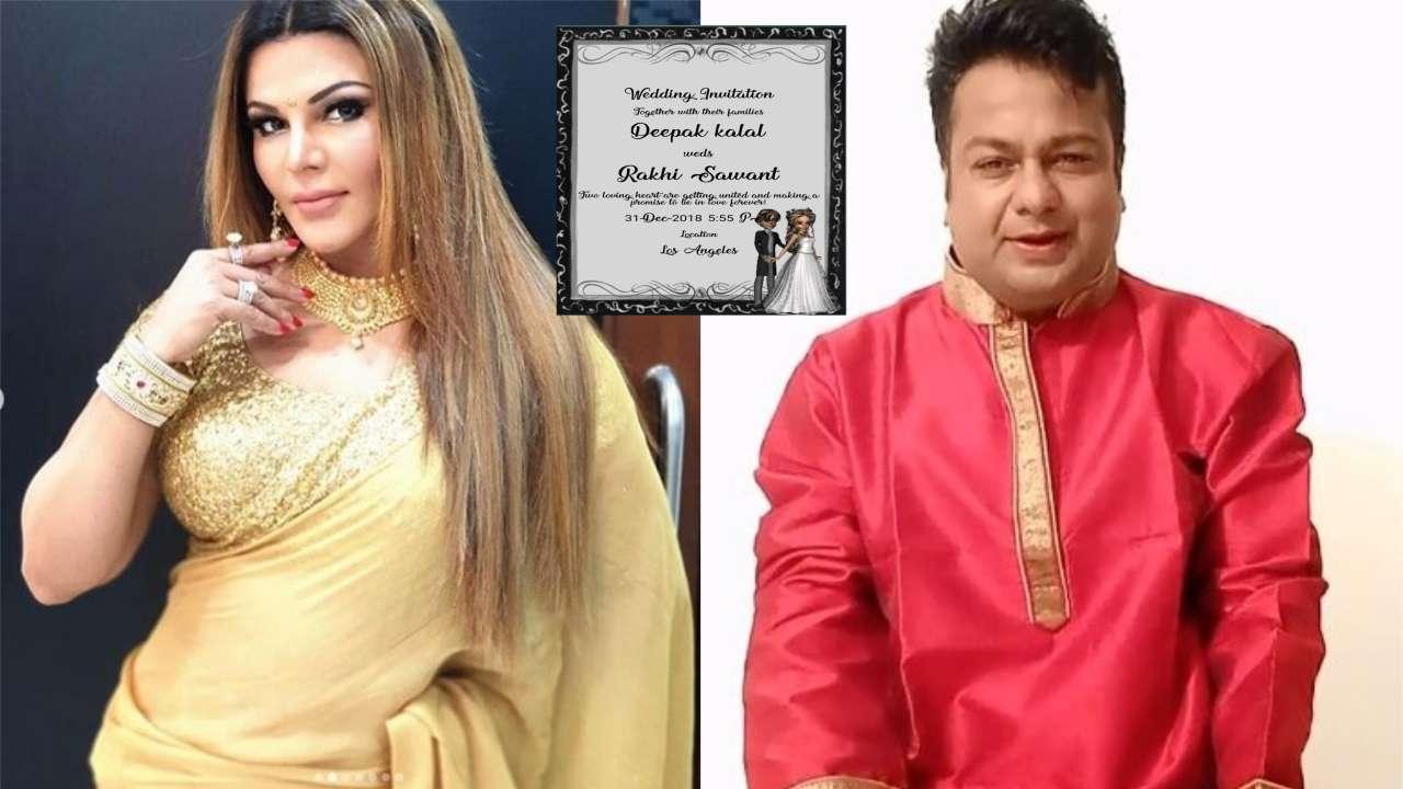 Deepak kalal and Rakhi sawant marriage