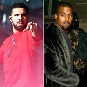 Kanye and Drake
