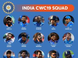 ICC World Cup 2019 India