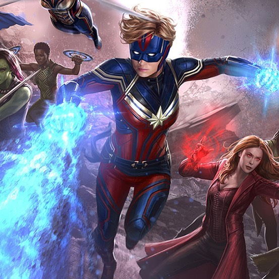 Endgame Concept Art reveals new helmet for Captain Marvel - NewsDio