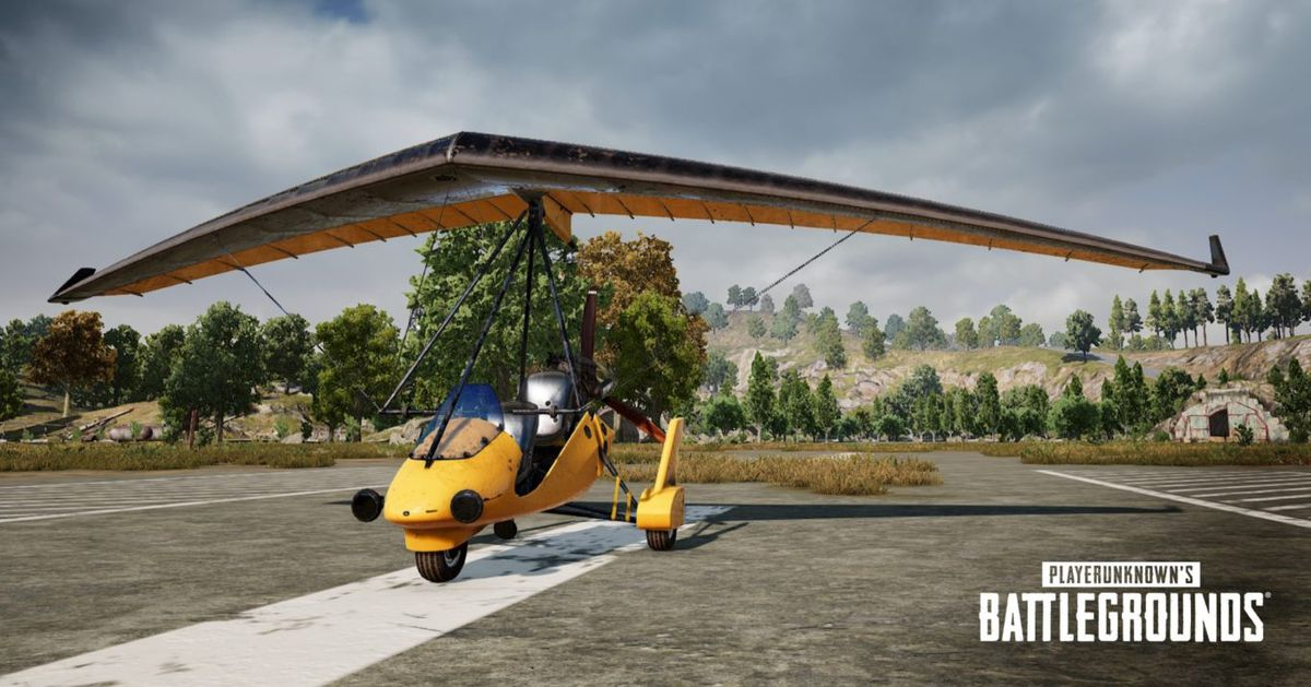 Fly into action with the new Motor Glider in PUBG Labs