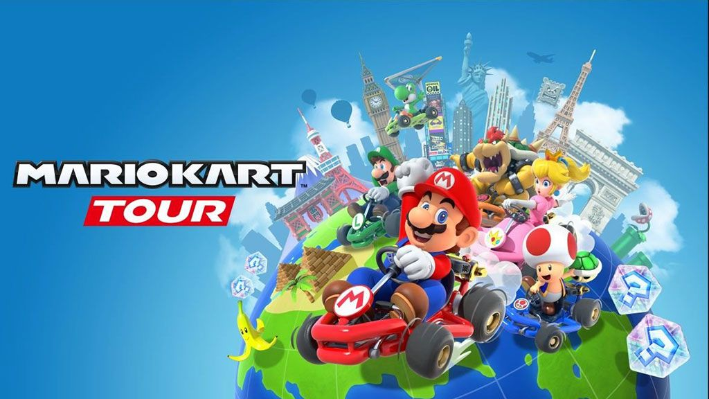 The multiplayer beta of Mario Kart Tour is now open