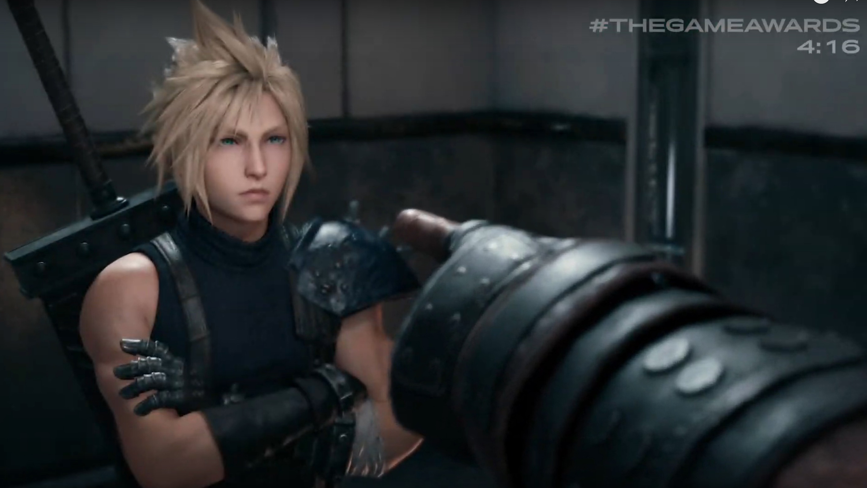 The Game Awards 2019 Final Fantasy 7 Remake trailer highlights Cloud Strife