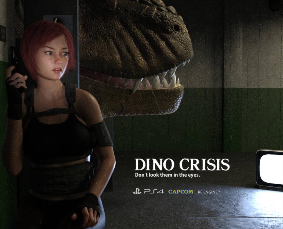 VIDEOJUEGOS Y CONSOLAS / VIDEOGAMES & CONSOLES Dino-crisis-fan-image
